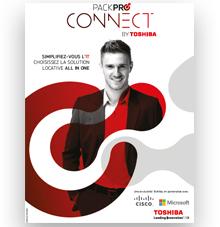 Pack Pro Connect de Toshiba disponible sous forme d'un forfait mensuel