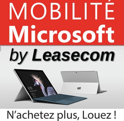 Mobilité Microsoft by Leasecom
