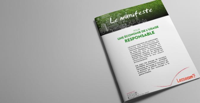 Visuel - Le Manifeste Leasecom