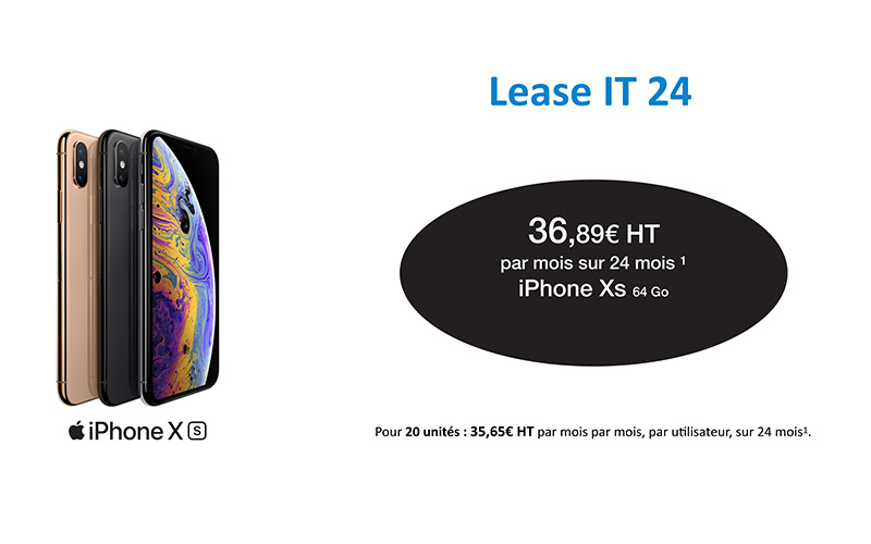Visuel Offre Apple Iphone Xs