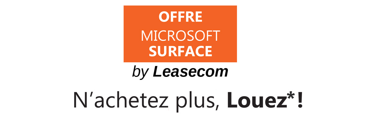 Header Offre Microsot Surface Go