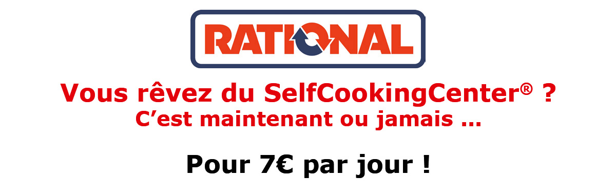 Landing Offre Rational SelfCookingCenter®